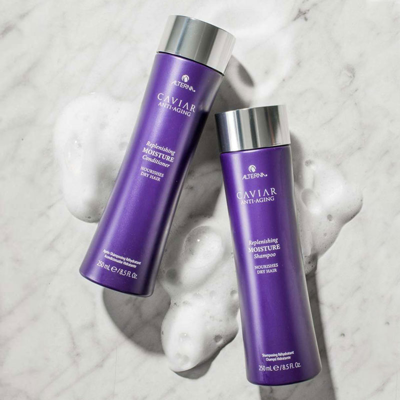 Alterna Luxury Haircare - Caviar shampoo and conditioner
