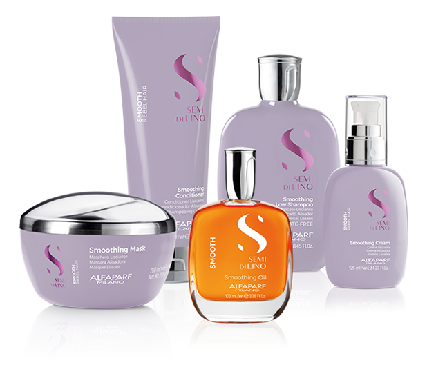 Semi Di Lino Smooth by ALFAPARF Milano. For Long Lasting Smoothness. Click here to see the full Semi Di Lino Range